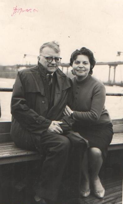 Эмма  Агопова и Дмитрий Шостакович