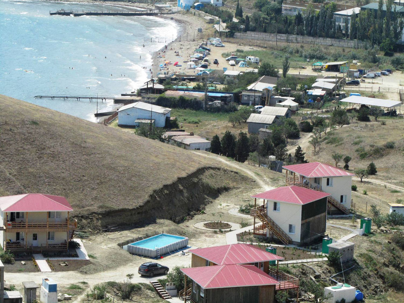 Krim solne4naja dolina  bereg prodaza kvartir